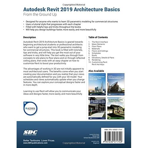 Buy Autodesk Revit 2019 Architecture Basics Perfect